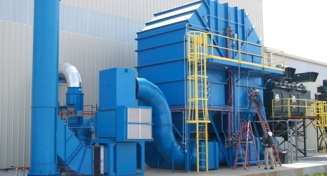 heat recovery thermal oxidizer 4