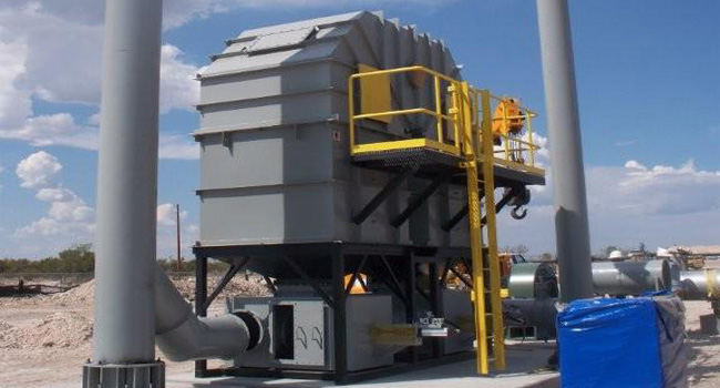 natural gas processing regenerative thermal oxidizer 2